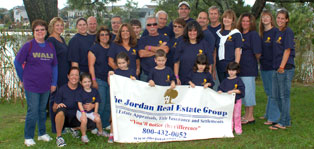 Jordan Real Estate Group  at Memory Walk